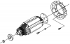 Ротор M102-000280 для Shindaiwa DGW500DM/RU