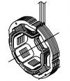 Статор M106-001070 для Shindaiwa DGW400DMK (вспомогательная обмотка)